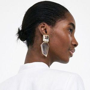 ZARA New Crystal Earrings... LAST ONE!!!